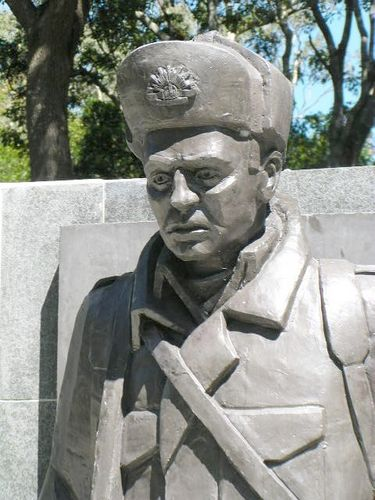 Korean War Soldier Closeup