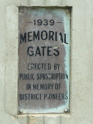 Korumburra Gates