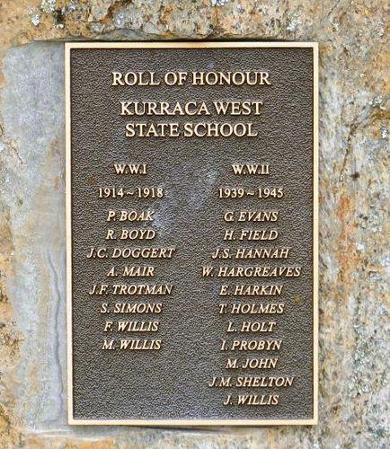 Kurraca West State School Honour Roll : 06-April-2013