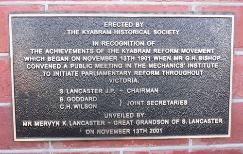 Kyabram Reform Movement : 21-July-2012