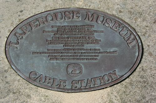 La Perouse Museum Plaque : March 2014