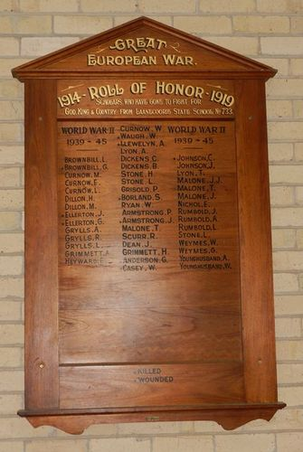 Laanecoorie State School Honour Roll : 01-June-2013
