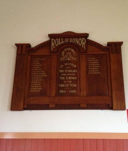 Lake Burrumbeet School Honour Roll : November 2013
