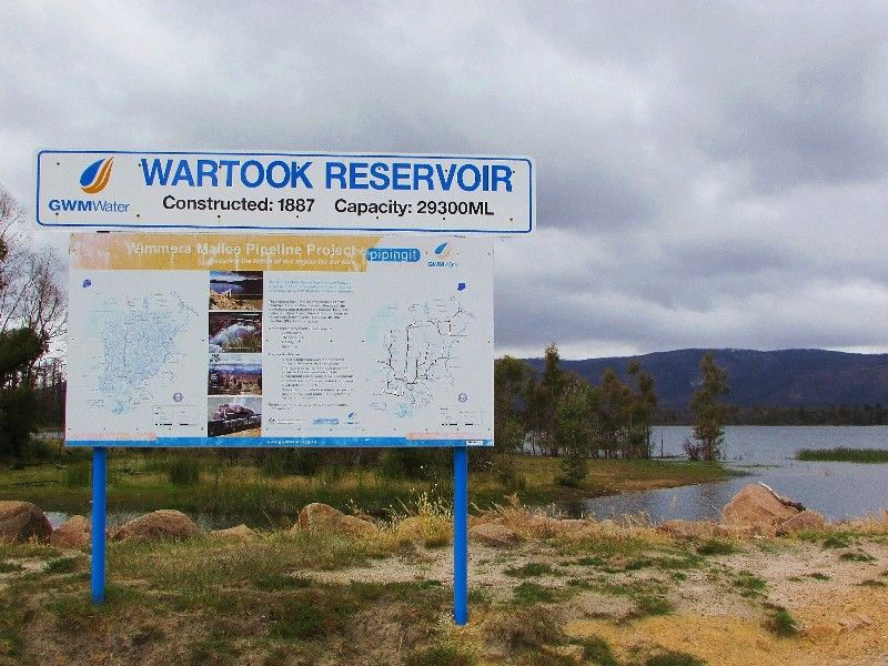 Wartook Reservoir : 05-December-2014