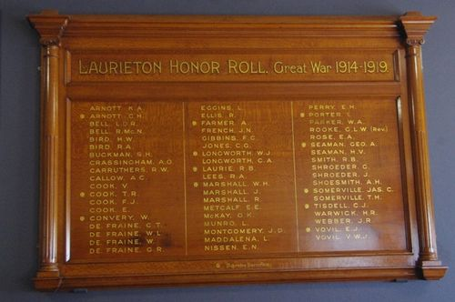 Laurieton Honour Roll : June 2014