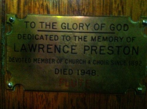 Lawrence Preston : 12-July-2012