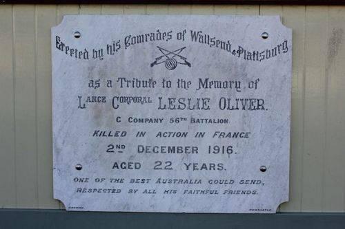 Leslie Oliver : 25-August-2011