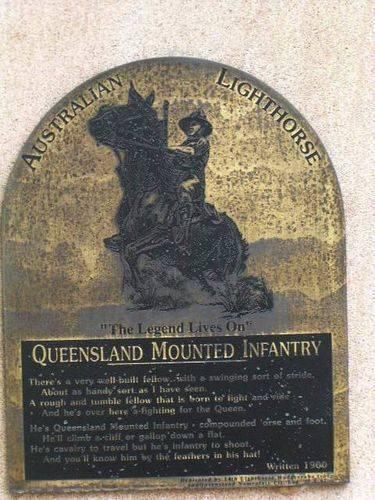 Light Horse Plaque / March 2013