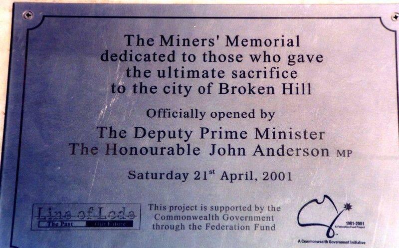 Plaque Inscription: 2006