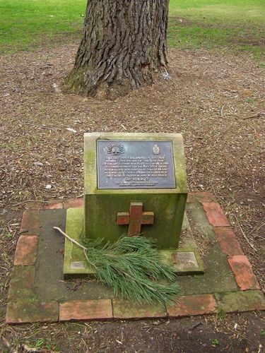 Lone Pine Plaque : 30-August-2014