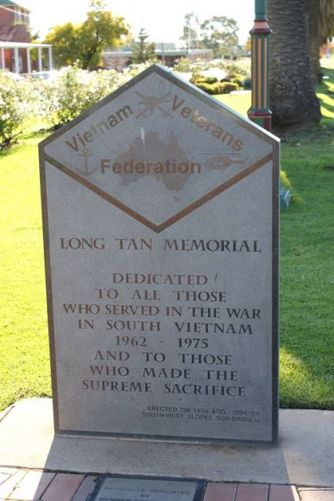 Long Tan Memorial : 14-July-2011
