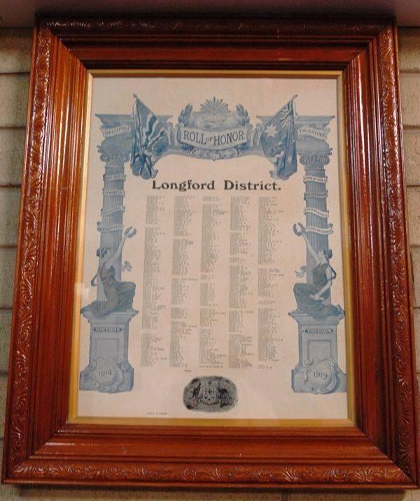 Longford Honor Roll 2:24-May-2014