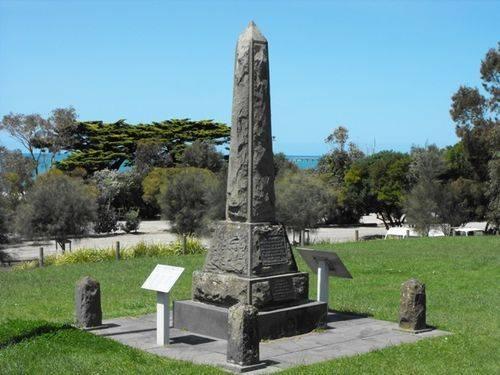 Lorne War Memorial/ April 2013/ Williams