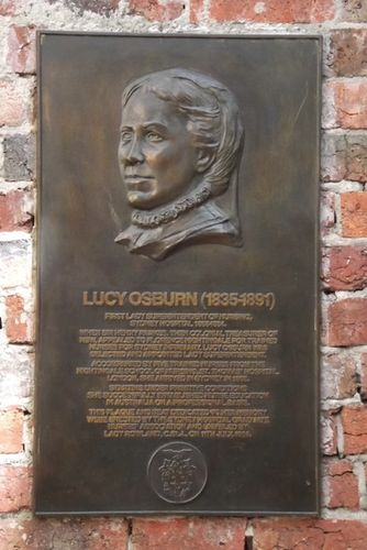 Lucy Osburn Plaque / April 2013