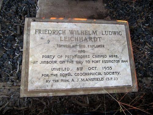 Leichhardt Plaque : 23-03-2011