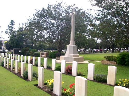Lutwyche War Cemetery / March 2013