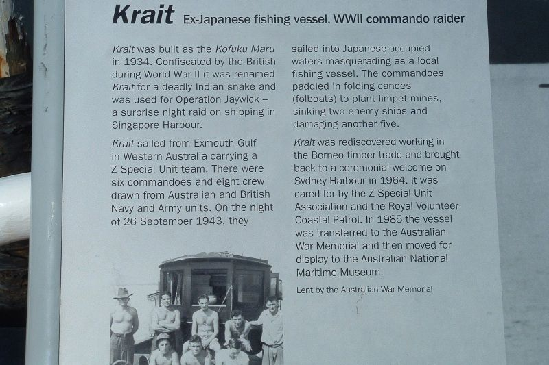 Krait Information Plaque : 01-January-2002
