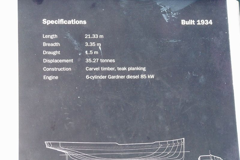 Specifications Plaque : 01-January-2002