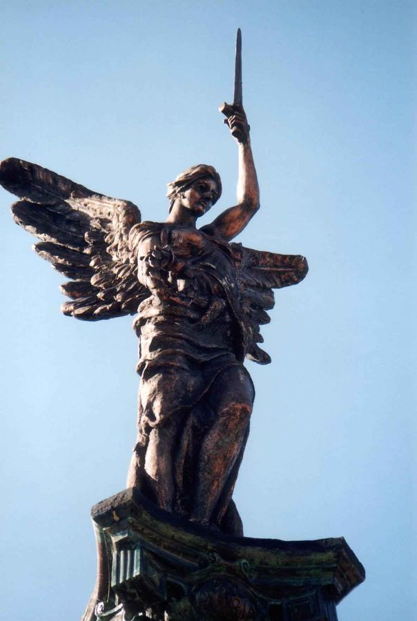 06-September-2005 : Original Sculpture on top of column