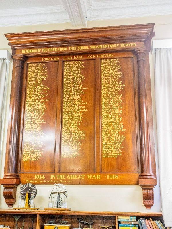 Honour Roll 2 : 04-November-2015