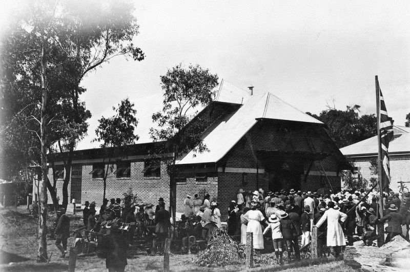 09-December-1922 : Hall Opening : State Library of South Australia - B-1179