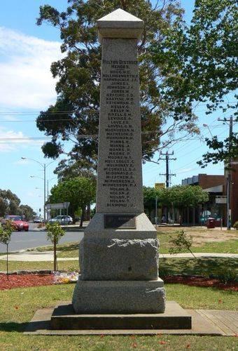 Melton War Memorial