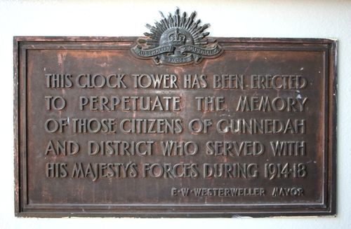 Clock Tower & Arch Plaque : 09-04-2014