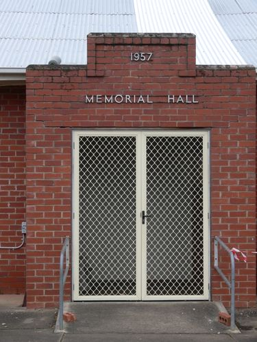 Memorial Hall : 28-October-2011