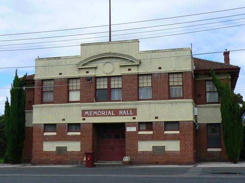 Memorial Hall : 19-December-2011