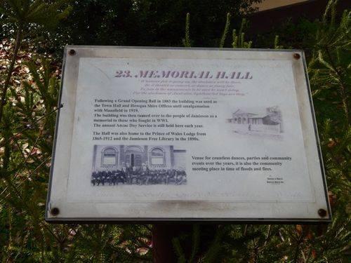 Memorial Hall : 13-June-2013