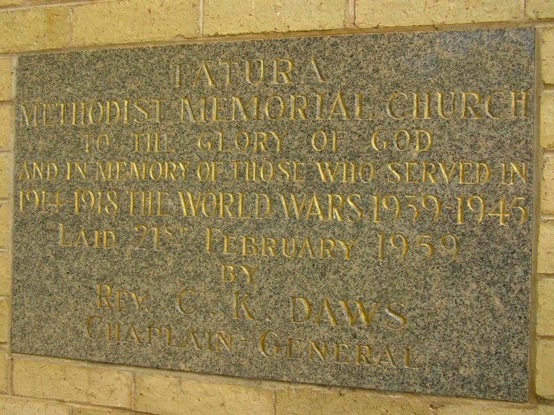 Memorial Stone : 19-October-2014