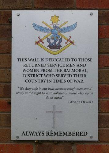 Memorial Wall : 28-October-2011