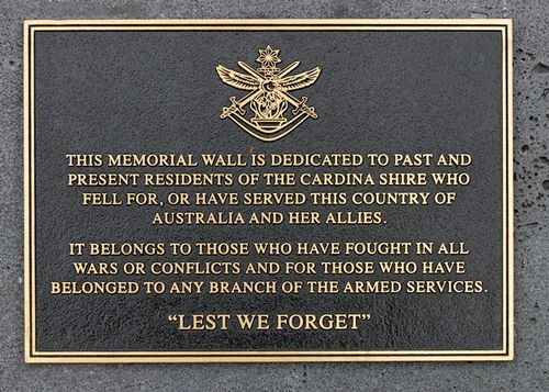 Memorial Wall : 10-April-2013