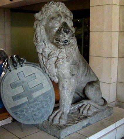 Menin Gate Lion