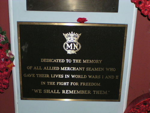 Merchant Navy Plaque