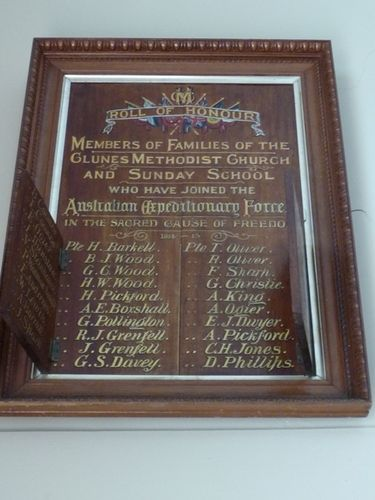 Methodist Church Roll of Honour : 21-March-2011