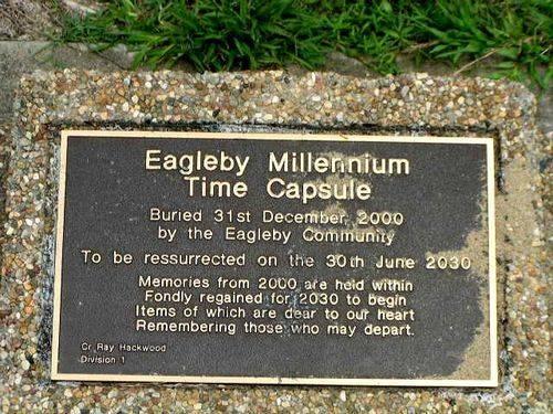 Millennium Time Capsule Plaque