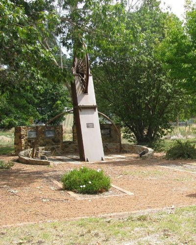 Miners Memorial : 22-February-2002