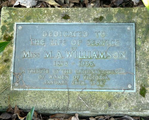 Miss M. A. Williamson : 25-June-2011