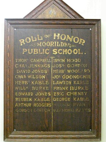 Moorilda Public School Honour Roll : 25-03-2014