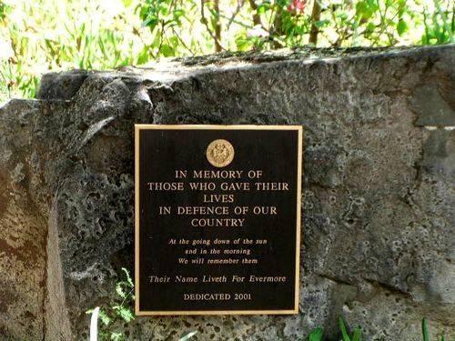Mount Alford Memorial Stone