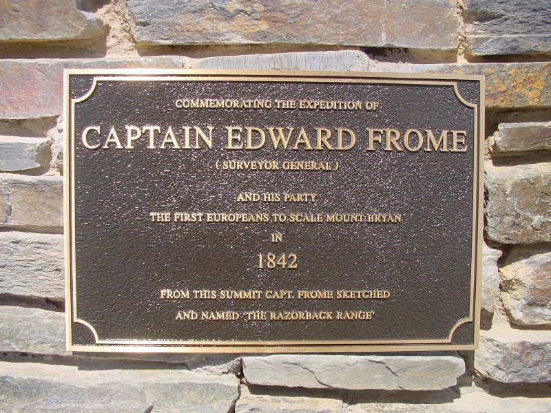 Captain Frome Plaque : 12-October-2002