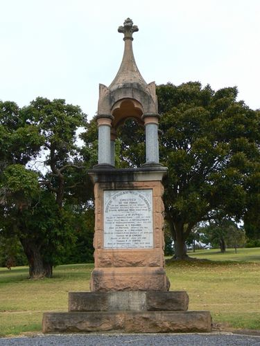 Mount Gambier Boer War Memorial
