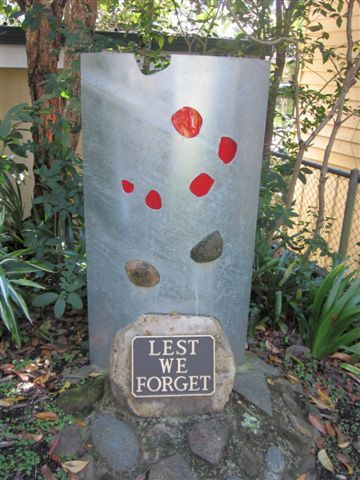 Mount Nebo State School War Memorial : 30-06-2012