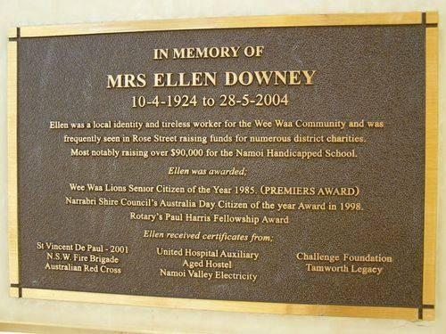 Mrs Ellen Downey : 12- August-2014