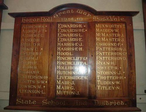 Muskvale State School & District Honour Roll  : 09-June-2013