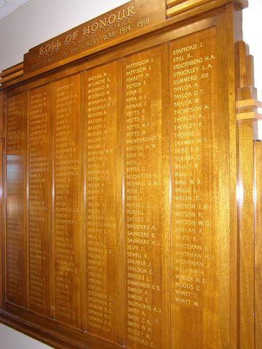 Narrabri District Roll of Honour : 11-August-2014