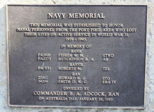 Navy Memorial : 25-April-2012