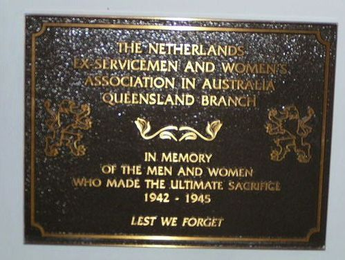 Netherlands Ex Service Plaque