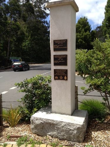Noojee War Memorial : March 2014